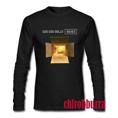 New Goo Goo Dolls Boxes Custom Gildan Mens Long Sleeve T-shirt XS-2XL