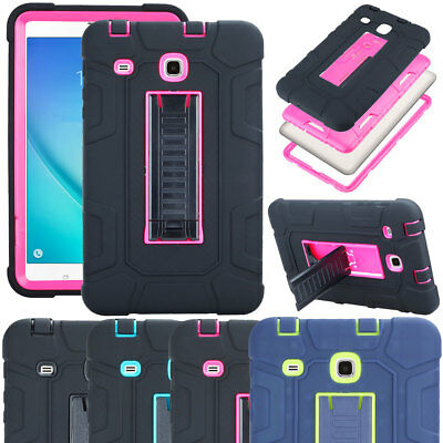 For Samsung Galaxy Tab A 7.0 8.0 9.7 10.1 Heavy Duty Tough Strong Military Case