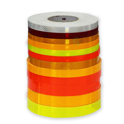 1m New Car Truck Night Reflective Safety Warning Conspicuity Tape Strip Sticker