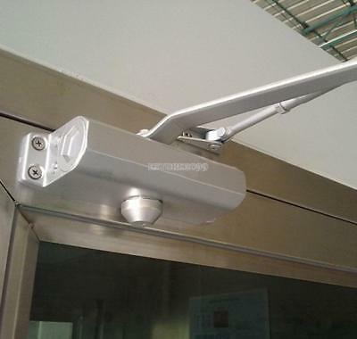 85-120KG Aluminum Commercial Door Closer Two Independent Valves Control Sweep@