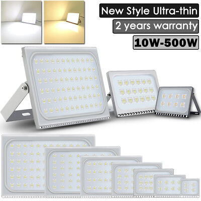 500W 300W 200W 150W 100W 50W 30W 20W 10W LED Flood Lights Outdoor Lamp Slim US