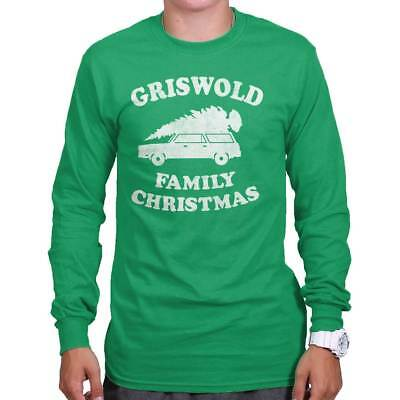 5435dab53 Griswold Family Christmas Vacation Cool Gift Cute Edgy Funny Long Sleeve Tee