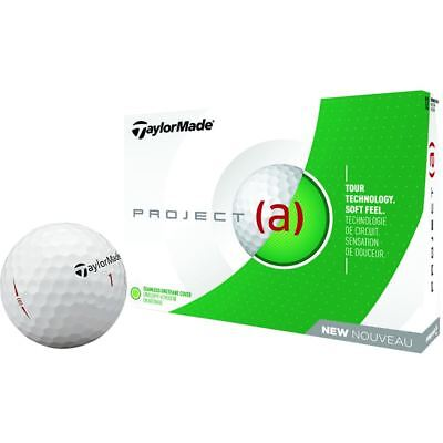 TaylorMade Golf 2018 Project (a) Tour Dual-Distance Core Golf Balls