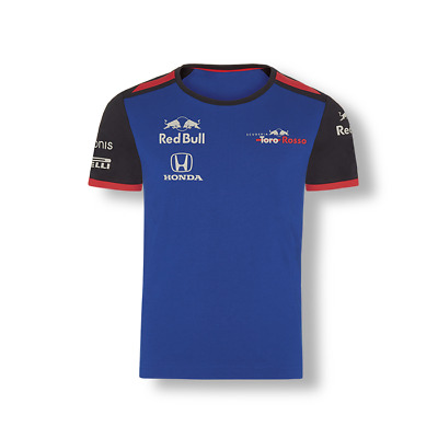 Scuderia Toro Rosso F1 Official Kids Teamline T-Shirt - 2018 - clearance price