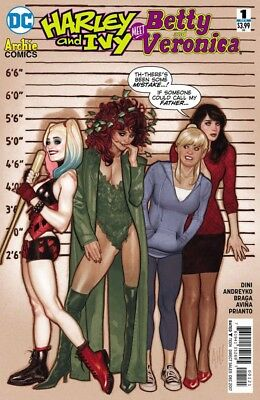 Harley and Ivy Meet Betty and Veronica (2017) #   1 Variant Cover by Adam Hughes