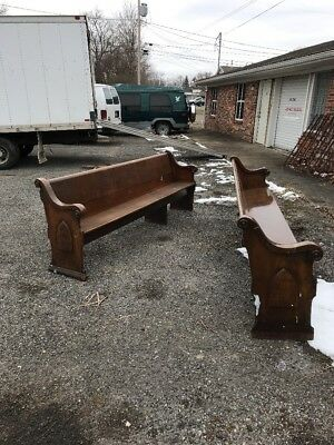 Antique Church Pew Five Available Price Each 8 Foot