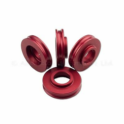 5mm Red Spacers for Radial Brake Calipers set of 4 GSXR R1 R6 ZX6R ZX10R CBR