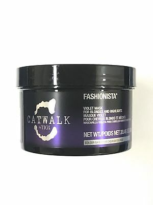 Tigi Catwalk Fashionista Violet Mask 20.46 Oz, For Blondes And Highlights