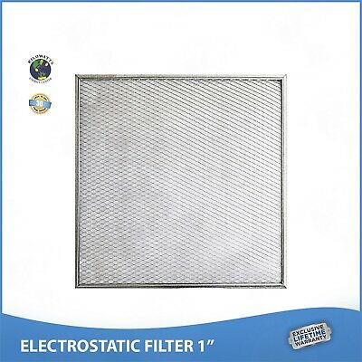 20x20x1 Lifetime Warranty Electrostatic AC Furnace Air Filter Permanent Washable