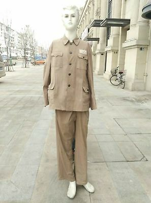 China Pla Communist Party Korea War Volunteers Army Tunic And Trousers Size 1