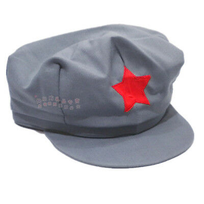 WW2 Army Hats Chinese Red Army Militaire Military Cotton Caps M