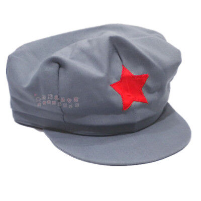 WW2 Army Hats Chinese Red Army Militaire Military Cotton Caps XL