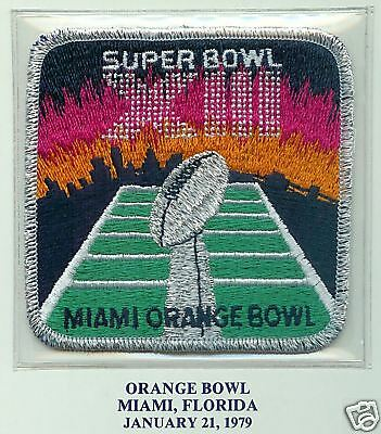1979 Super Bowl Xiii Official Nfl Patch Steelers Dallas