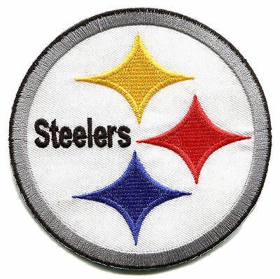 Pittsburgh Steelers Nfl Football 4 Round Team Logo Patch 9 95