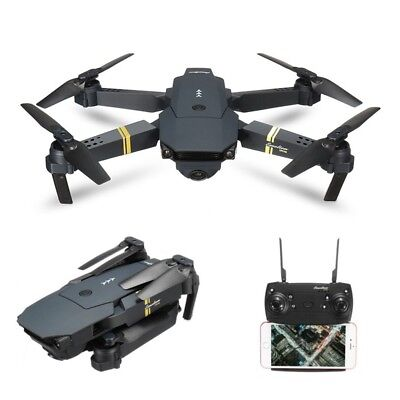 Drone with Wide Angle Camera WIFI FPV Foldable Quadcopter w/ 720P 2MP HD Video