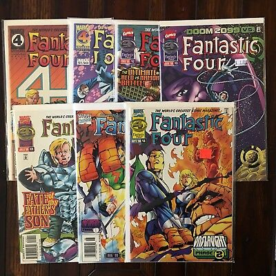 Marvel FANTASTIC FOUR Vol. 1 410 411  412 413 414 415 416 VF/NM 1995 Final Issue