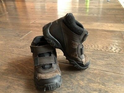 Stride Rite Rugged Ritchie 2 Dark Brown Sneakers  Boots Toddlers  Boys 13M
