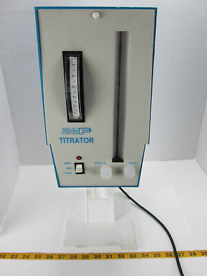 Bailey Fisher Porter Titrator Titrate Refill Model 17T2012AXX Capital Control GS