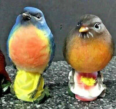*NEW CHOOSE from Cardinal, Robin, or Bluebird Figurine *Price is for one Bird 3""