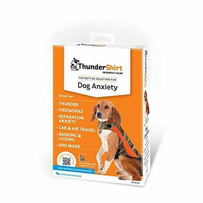 New ThunderShirt Polo Dog Anxiety Jacket Camo Large / damage box