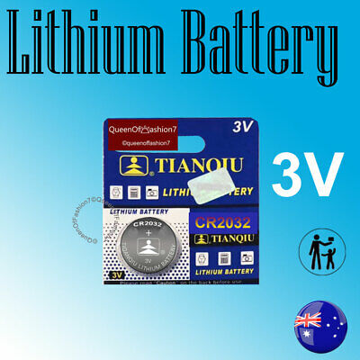 100~50~20~10 x CR2032 Blister Packed Battery 3V Lithium Batteries Button Battery
