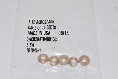 NEW Boeing BACB28AT04B013C Brass Bushing, Pack of 5