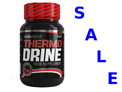 BioTech USA THERMO DRINE  Diet Pills Weight Loss Fat Burner Thermogenic FREE P&P