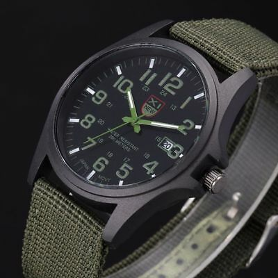 INFANTRY INFILTRATOR Mens Wrist Watch Analog Army Sport GREEN