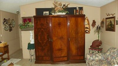 Antique Wardrobe Armoire, over 300 years old
