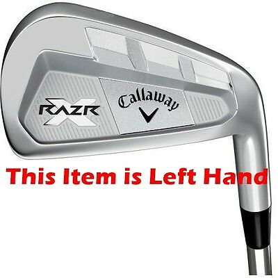 Callaway Razr X Forged No. 6 Iron - Steel Reg Flex - Mlh - New - Value Plus!!