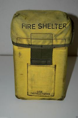 2 lot FIRE SHELTER  WILDLAND BRUSH Fire expired old generation never used