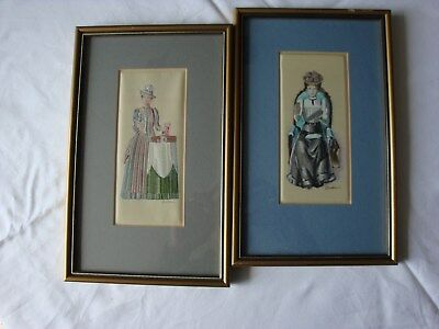 TWO Mrs ALBEE WOVEN PICTURES IN SILK AND RAYON_J. & J. Cash Ltd.
