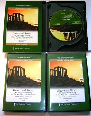 Teaching Co. Ancient Mediterranean University DVD Course Greek Roman Hellenic