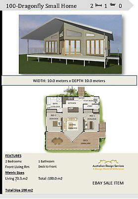Small Home Design 2 Bedroom + Study Nook - Kit House Plan For Sale