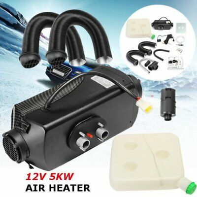 5kW 12V Air Diesel Heater Planar 2xVent Duct For Car Trucks Motor-homes Boat Bro