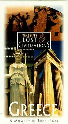 Time Life Lost Civilizations Greece VHS Pericles Athens Parthenon Delphi Apollo