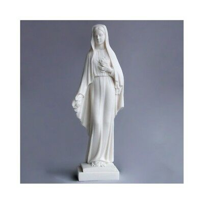 Statue of the Blessed Virgin Mary Rosa Mystica 9.8 inch