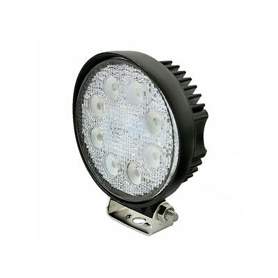 Round LED worklight - FORKLIFT / INDUSTRIAL / ATV / 10volt - 80volt