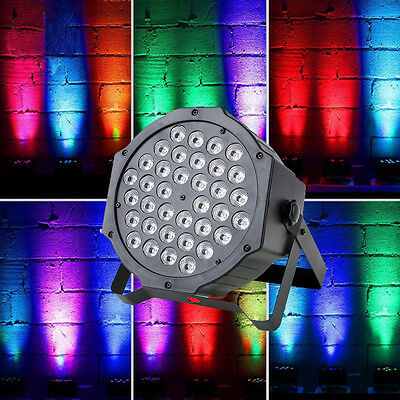 new 72w 36 led rgb dmx stage lighting par fixture dj xmas party