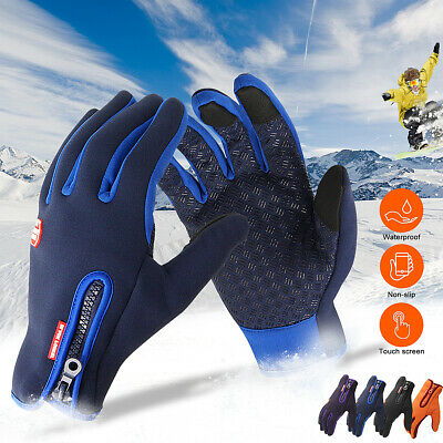 UK Winter Warm Windproof Waterproof Anti-slip Thermal Touch screen Gloves Mall