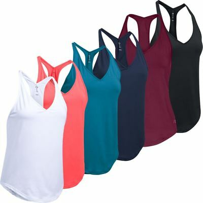 Under Armour 2018 Ladies Flashy Racer Sports Fitness Tank Top
