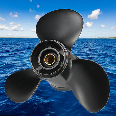 For Tohatsu Mercury Mariner 25-30HP 346-64104-5 Outboard Propeller 9-7/8 x 13