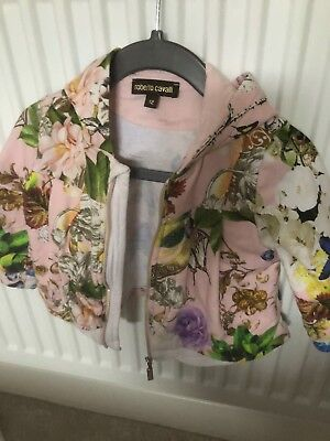 Roberto Cavalli Baby Girl tracksuit aged 12 months