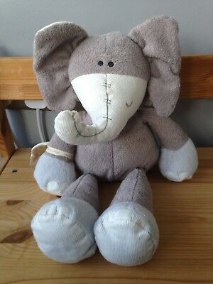 mamas and papas once upon a time peanut the elephant teddy (large)