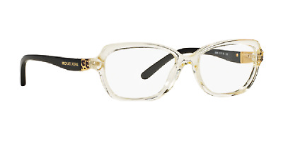 7640441b0a Authentic MICHAEL KORS SADIE IV 4025 Eyeglasses 3086 Champagne Black  NEW   51mm