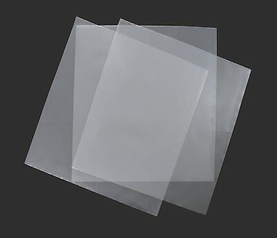 "100 12"" Plastic Outer Polythene Record Sleeves / 250G"