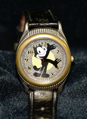 Vintage 1970's Fossil Felix The Cat Watch Official Limited Edition LI-1007