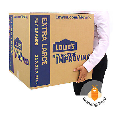 """EXTRA LARGE CARDBOARD BOXES 22"""" x 22"""" Storage Moving Shipping Packing XL 5 PACK"""