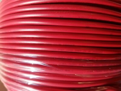 100 m RED 2.5mm 30AMP 12V Tri Rated Cable Panel  Loom Automotive Marine Wire