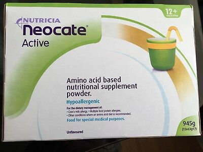 NEW Nutricia Neocate Active (Unflavour)